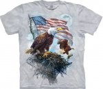 American Eagle Flag Patriotic - The Mountain