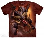 Dragon Raid - T-shirt The Mountain