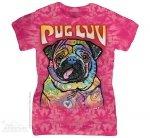 Pug Luv - The Mountain - Damska