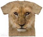 Big Face Lion Cub - T- shirt The Mountain