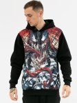 Venom Comics Face - bluza z kapturem Marvel