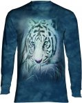 Thoughtful White Tiger  - Long Sleeve The Mountain