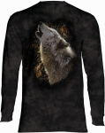 Song of Autumn Wolf - Long Sleeve The Mountain