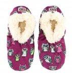 Night Owl Fuzzy Feet - Papcie - LazyOne