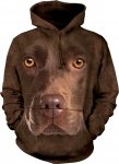 Chocolate Lab Face - Bluza The Mountain