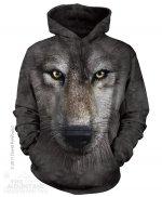 Wolf Face - Wilk - Bluza The Mountain