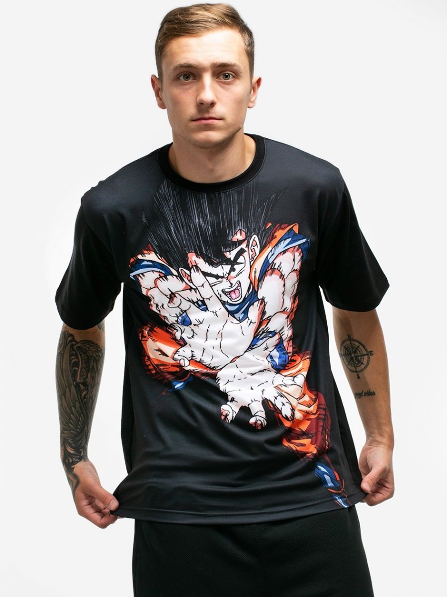 cdec93f73 Sklep veoevo.pl - Koszulki Malowane Pazurem - Goku Fight - Dragon ...