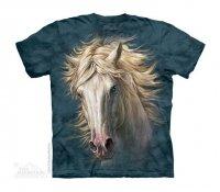 White Horse Portrait - The Mountain - Dziecięca