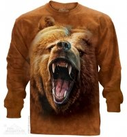 Grizzly Growl - Long Sleeve The Mountain