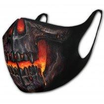 Skull Lava - Face Mask Spiral