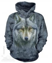 Warrior Wolf - Mikina The Mountain