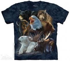 Wild Alaskan Collage - The Mountain