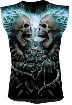 Flaming Spine - Sleeveless – Spiral