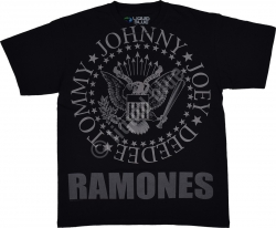 Ramones Hey Ho Lets Go - Liquid Blue
