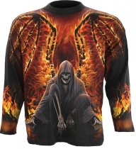 Flaming Death - Longsleeve Spiral