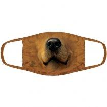 Golden Retriever Pet Dog - 3 vrstvé Rouška