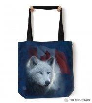 Canadian White Wolf - Taška - The Mountain