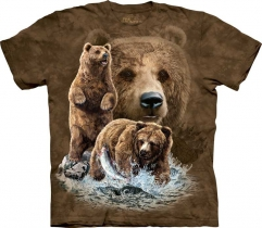 Find 10 Brown Bears - T-shirt The Mountain