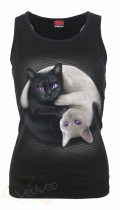 Yin Yang Cats - Razor Top Spiral – Ladies