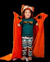 Tiger - Přikrývky Zvířatka - LazyOne