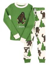 Bigfoot - Pyžamo dětské dlouhý rukáv – LazyOne