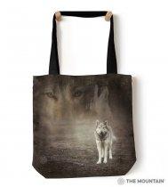 Grey Wolf Portrait - Taška - The Mountain