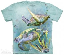 Sea Turtles Swim - T-shirt The Mountain
