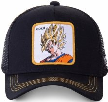 Goku Profile Black Dragon Ball - Czapka Capslab