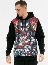Venom Comics Face - bluza z kapturem Marvel