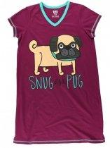 Snug As a Pug Nightshirt - Koszula Nocna - LazyOne