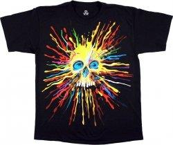 Neon Skull - Liquid Blue