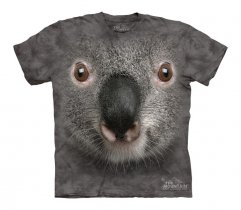 Gray Koala Face - The Mountain - Junior