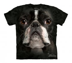 Boston Terrier Face - The Mountain - Junior