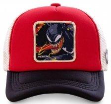 Venom Red Marvel - Czapka z daszkiem Capslab