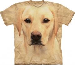 Yellow Lab Portrait - Labrador - The Mountain