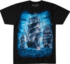 Pirate Ship - Liquid Blue