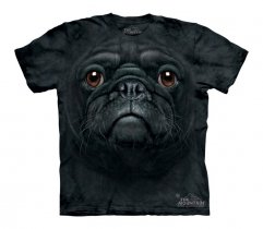 Black Pug Face - The Mountain - Junior