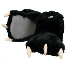 Black Bear Paw Slippers - Papcie LazyOne