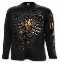 Steam Punk Ripped - Longsleeve Spiral