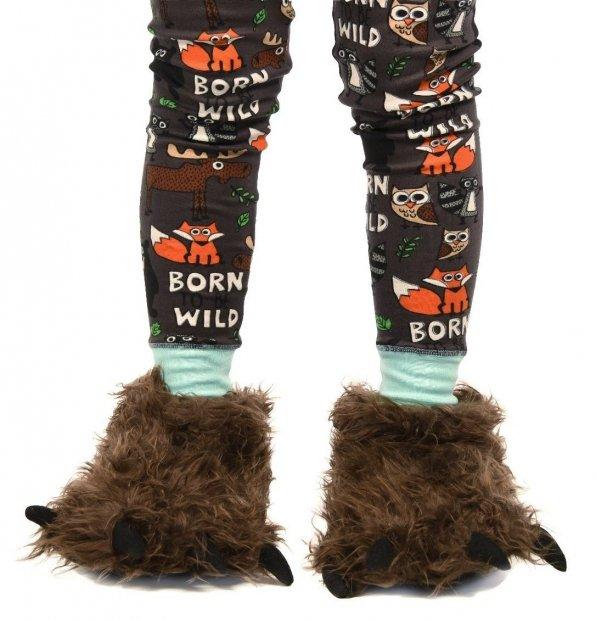 Big Foot Paw Slippers - Bačkory LazyOne