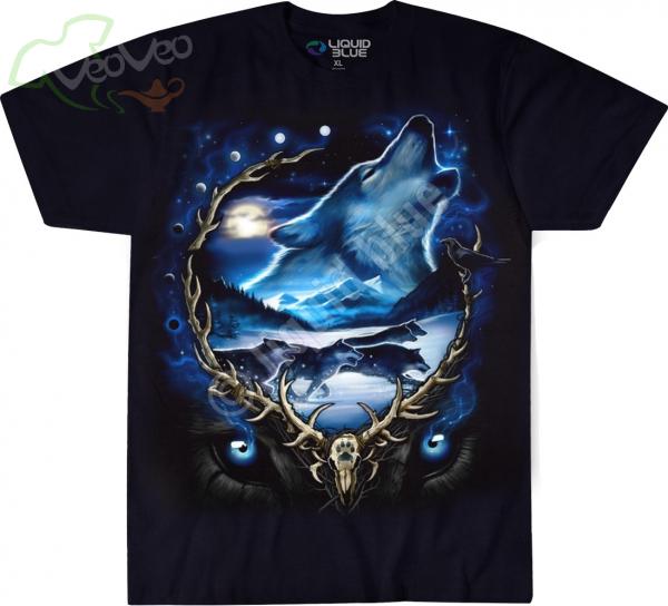 Wolf Run - Liquid Blue