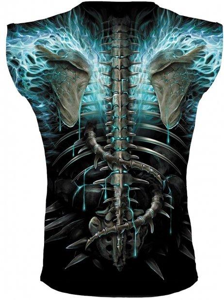 Flaming Spine - Sleeveless – Spiral