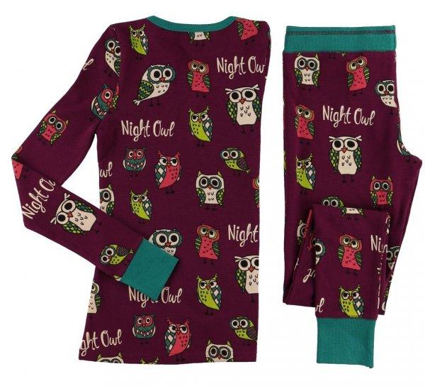 Night Owl - Thermal Set Ladies LazyOne