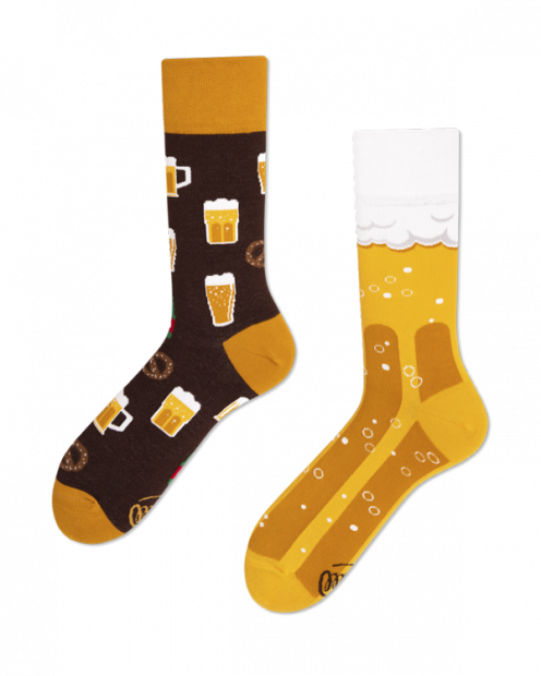 Craft Beer - Ponožky - Many Mornings