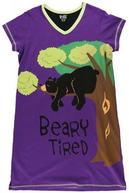 Beary Tired Nightshirt - Noční košilka - LazyOne
