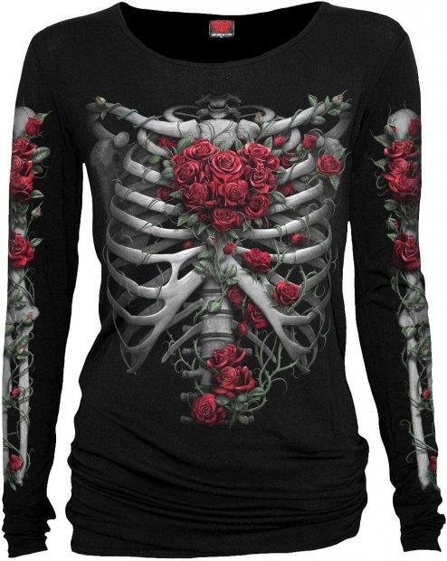 Rose Bones - Baggy Top Spiral – Ladies