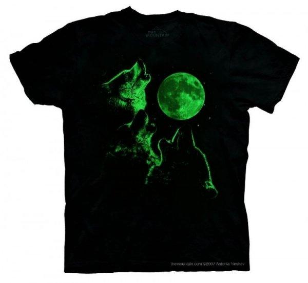 Three Wolf Moon Glow - The Mountain