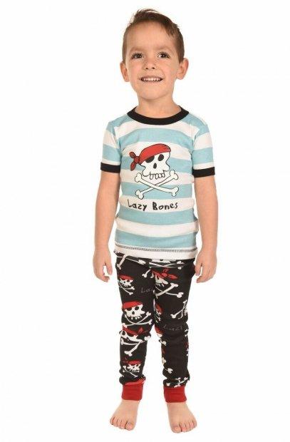 Pirates Blue - dětská pyžama LazyOne