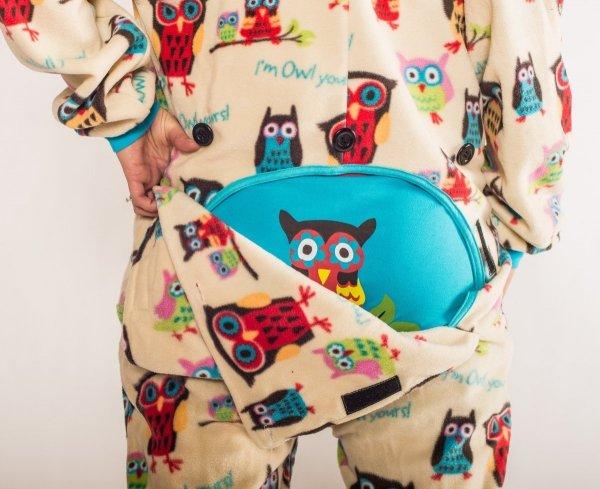 I'm Owl Yours Footie - Spací kalhoty LazyOne