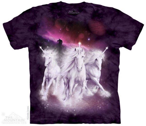 Cosmic Unicorns - T-shirt The Mountain